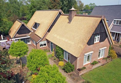 nieuw rieten dak drenthe