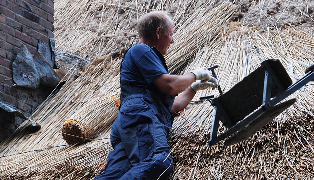 onderhoud rieten dak